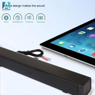 USB Multimedia Speaker Stereo Subwoofer Sound Bar Home Theater USB Speaker Universal