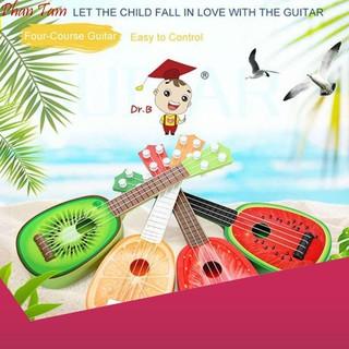 [HÀNG CÓ SẴN] Đồ chơi đàn guitar cho bé yêu (Đỏ) siêu bền