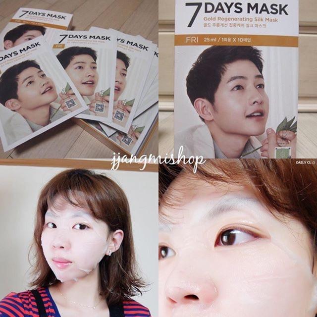 MẶT NẠ 7 DAYS MASK FORENCOS PHIÊN BẢN SONG JOONG KI 7days mask