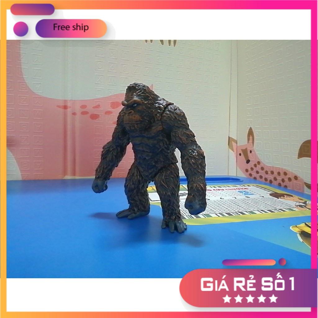 Mô hình Quái vật King Kong 2021 17×18 cm ( Godzilla vs Kong – MonsterVerse ) [Đồ Chơi Trẻ Em]