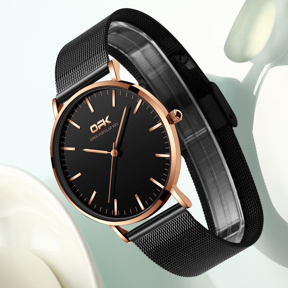 Đồng hồ OPK 8101 chống thấm nước phong cách thể thao cho nam