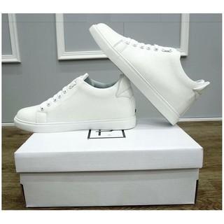 Giày Thể thao Sneaker nam trắng Miếng Lót giày Tăng chiều cao độn đế cao đến 6cm Siêu đẹp giá thumbnail