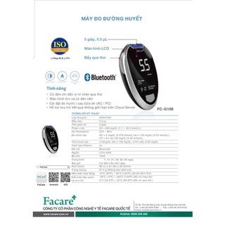 Máy đo đường huyết FaCare FC-G168 ( BH trọn đời) thumbnail