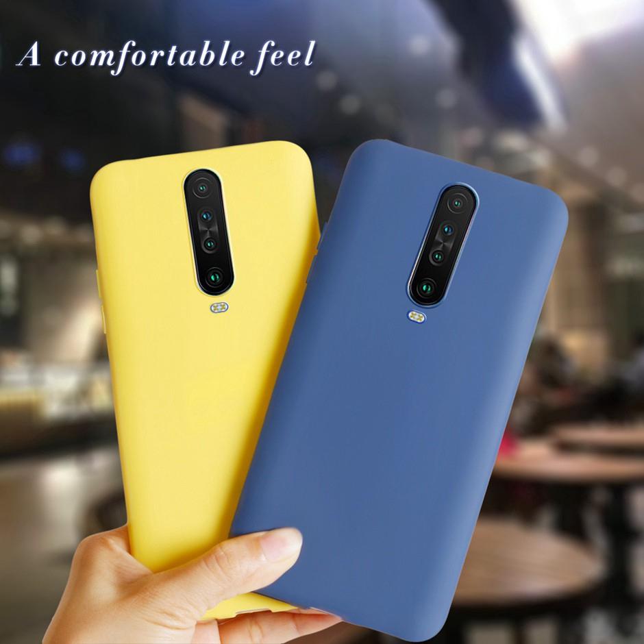 Ốp điện thoại bằng silicon màu kẹo ngọt cho XIAOMI POCO X2 / REDMI K30 / K30 5G