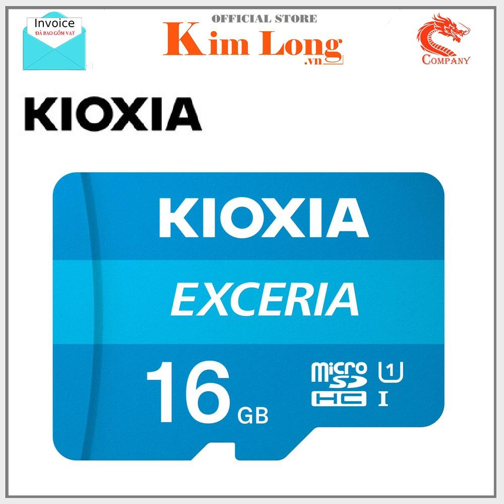Thẻ nhớ 16GB Kioxia ( Toshiba ) Micro SD Class 10 UHS-I 100MB/s - FPT phân phối