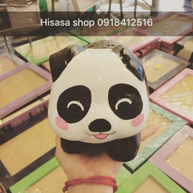 [Size Đại] Heo đất 3D HandMade - gấu trúc Panda