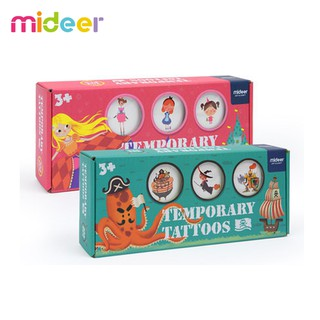 Hộp đồ chơi hơn 200 hình dán tatoo cho trẻ – hình xăm Mideer