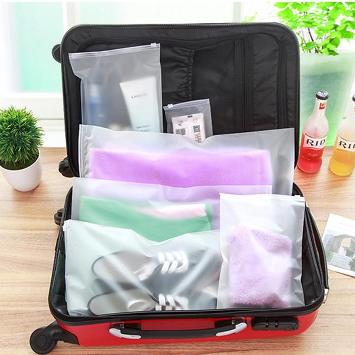 Túi để đồ chống bụi du lịch chống nước ẩm mốc - túi zip đựng giày quần áo