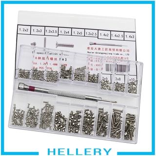 Bộ Ốc Vít Đồng Hồ Đeo Tay 500x 18 Loại 1.2-2.0mm