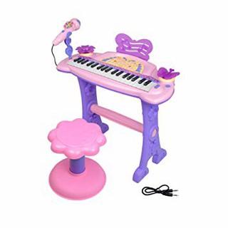 Đàn PIANO 37 phím có micro kèm ghế ngồi cho bé