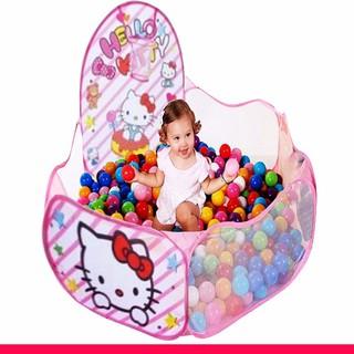 Lều bóng cho bé gái- Tặng kèm 100 quả bóng Thời trang nữ