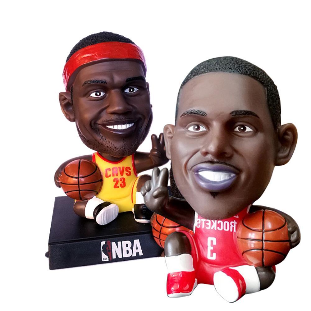 Decorative Accessories Toy Cartoon Basketball Figurine Player Car Football Ornament