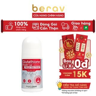 [PHIÊN BẢN NÂNG CẤP] Lăn Nách Mờ Thâm, Dưỡng Trắng Da Angel s Liquid Glutathione Plus Niacinamide Fresh Deodorant 60ml thumbnail