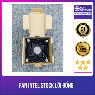 Fan Intel Stock lõi đồng kèm keo tản nhiệt, hàng chính hãng, giá tốt thumbnail