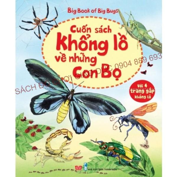 Big book - Cuốn sách khổng lồ về những con bọ.