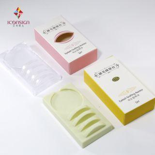 Khay nhựa composit mềm dẻo để keo nối mi nối thuận tiện cực sang trọng có các vạch chia hàng mi giúp lấy nhanh-3