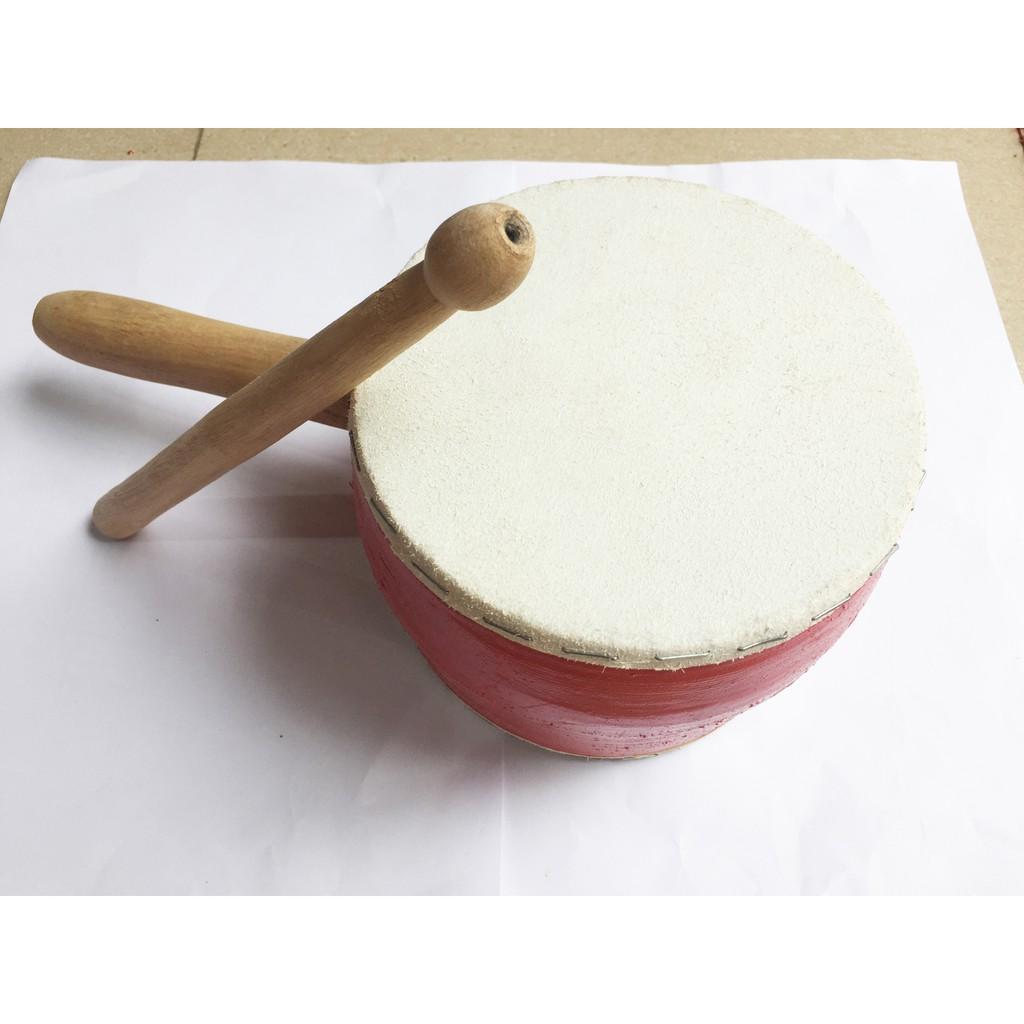 Trống da trung thu truyền thống, đường kính 15cm ,có tay cầm