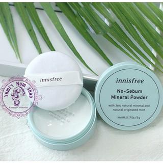 Phấn bột kiềm dầu Innisfree Innisfree No sebum mineral powder thumbnail