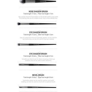 Bộ 10 cọ trang điểm chuyên nghiệp kèm túi đựng Focallure thumbnail