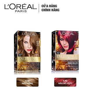Hình ảnh Kem nhuộm dưỡng tóc màu thời trang L'Oreal Paris Excellence Fashion 172ml-3