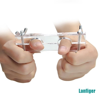 【Lanfiger】Escape Finger the thumb to lock the finger lock Magic tricks close up magic