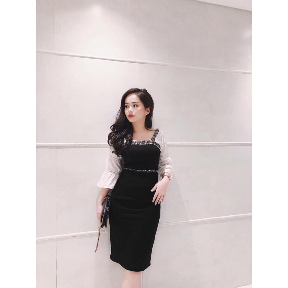 Đầm Ôm Tay Loe Cực Xinh