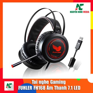 Tai nghe Gaming FUHLER FH168 âm thanh 7.1 LED