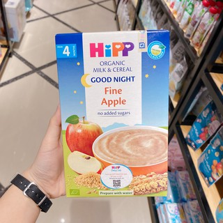Bột Ăn Dặm Dinh Dưỡng HiPP Good Night Fine Apple (Táo Tây) Hộp 250g (Cho trẻ từ 4 tháng tuổi)