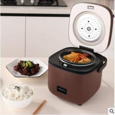 Nồi Cơm Điện Mini Đa Năng JIASHI 1,2L (Nấu Cơm, Nấu Cháo, Hấp, Luộc) (Lõi Nồi 0,8L)