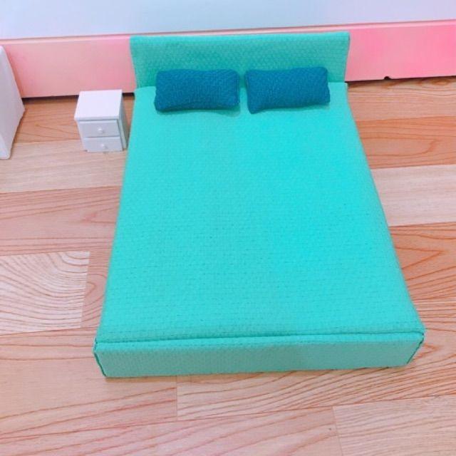 Tủ nhỏ để đầu giường cho mô hình nhà búp bê, tiểu cảnh