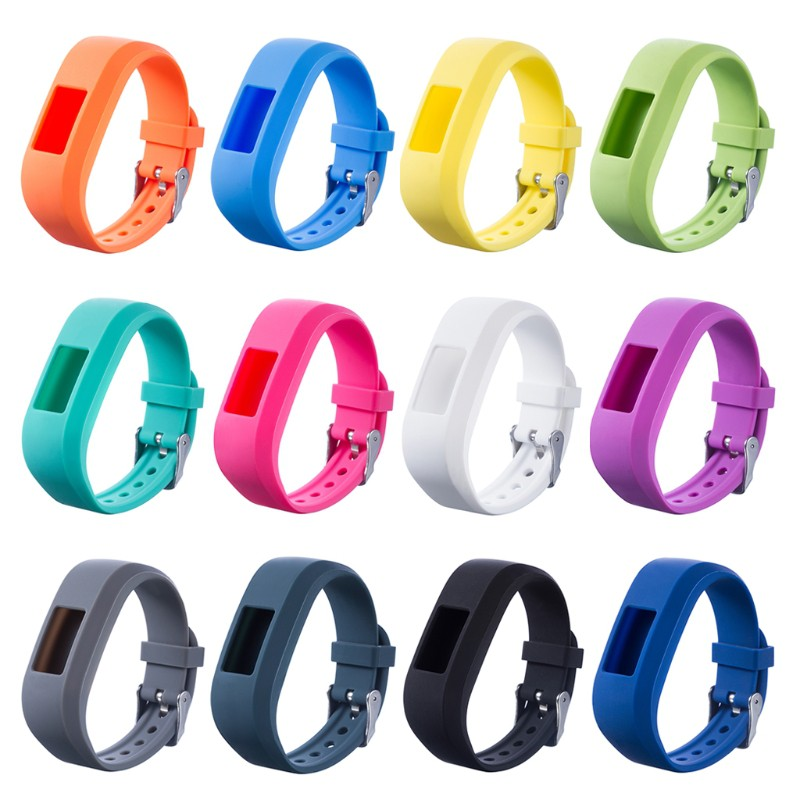 ❤Silicone Watch Band Strap Replacement For Garmin Vivofit JR JR2 Junior Fitness