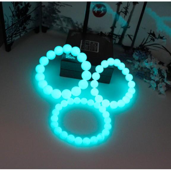 Vòng tay đá phong thuỷ nam nữ dạ quang, phát sáng trong đêm phong cách Hàn Quốc