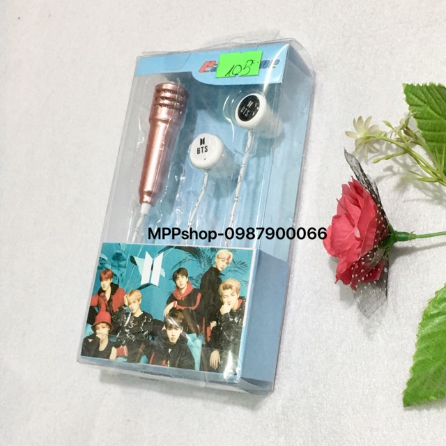 Tai nghe BTS có míc karaoke nghe nói được - 3501198 , 1190462173 , 322_1190462173 , 105000 , Tai-nghe-BTS-co-mic-karaoke-nghe-noi-duoc-322_1190462173 , shopee.vn , Tai nghe BTS có míc karaoke nghe nói được