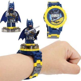 Đồng hồ lego cho bé (chọn màu ngẫu nhiên)