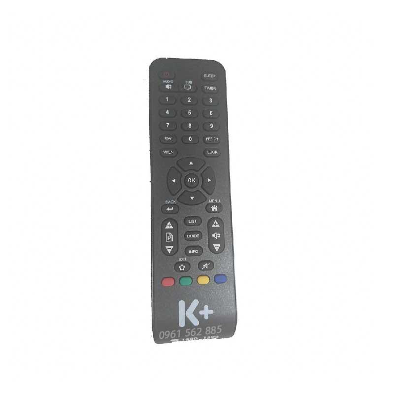 Điều Khiển Remote Đầu Thu K+ HD 2018-Bảo Hành Đổi Mới