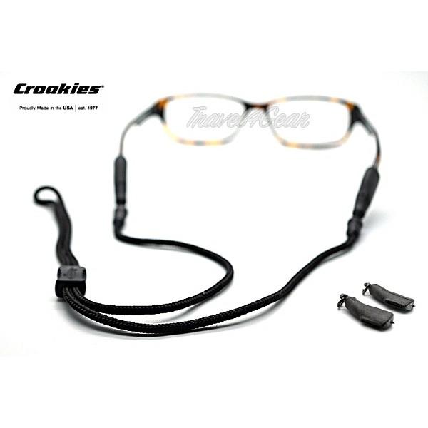 สายคล้องแว่น Croakies รุ่น Terra Combo XXL / Tite End Black ( สีดำ )
