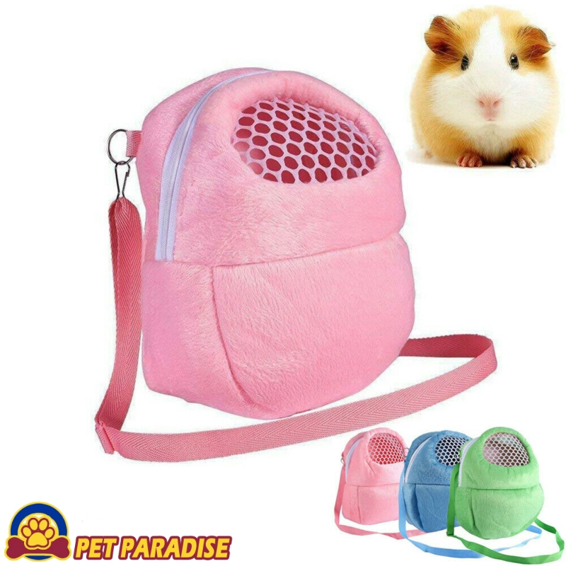 Small Pet Carrier Rabbit Cage Hamster Chinchilla Travel Warm Bags Cage Guinea Pig Carry Pouch Bag Breathable