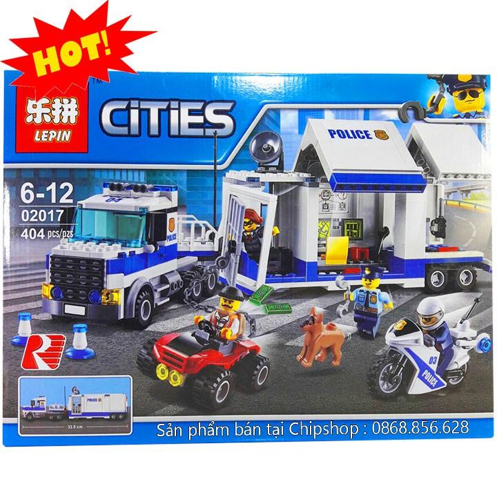Bộ Lego Xếp Hình Ninjago City Super Container Police. Có 404 Chi Tiết. Lego Ninjago Lắp Ráp Đồ Chơi Cho...