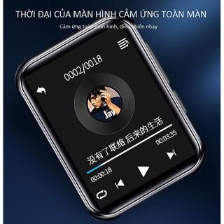 MÁY NGHE NHẠC MP3 BLUETOOTH RUIZU M9 BỘ NHỚ TRONG 16GB - MÁY NGHE NHẠC KHÔNG DÂY HỖ TRỢ ĐỌC SÁCH, XEM VIDEO thumbnail