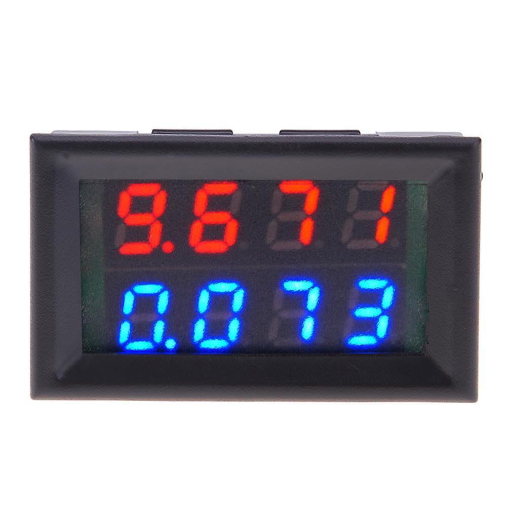 🔥Big-Sale🔥 LiChiLan Voltage Meter,0.28inch Four Digits Digital Voltmeter Current Voltage Meter 0-100V 0-10A