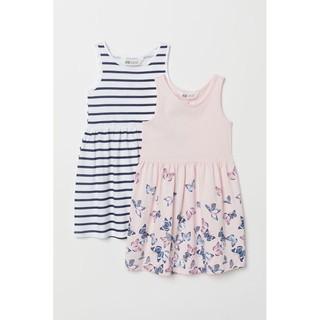 Set váy HM cho bé gái 6-8Y (set 2c)
