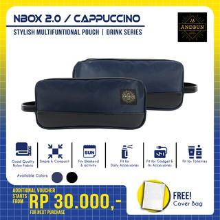Ví Da Cầm Tay Andbun - Cappuccino Nbox 2.0 Abnxo1202 thumbnail