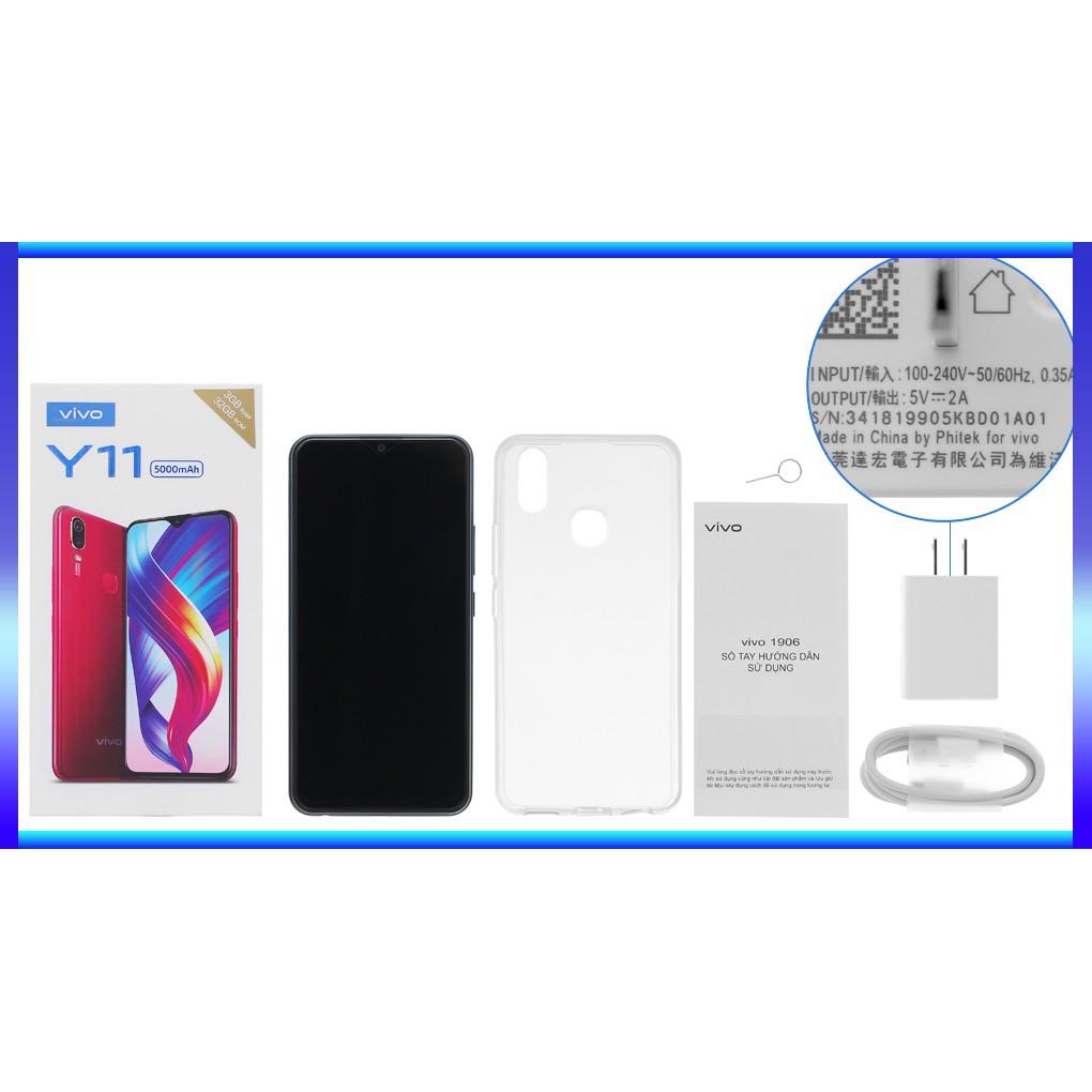 [Nguyên Seal] Điện Thoại VIVO Y11 3GB + 32GB - Hàng Chính Hãng + Tặng Kèm Gậy Chụp hình
