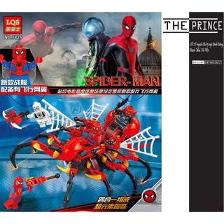 Bộ xếp hình siêu nhện spider-man LQS 7825