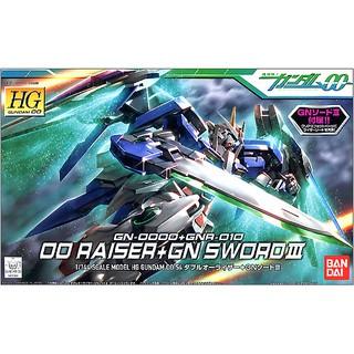 Mô Hình Gundam HG 00 Raiser + GN Sword III (Bản Full Kèm Base)