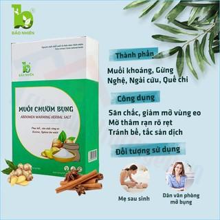 (Tặng túi chườm muối theo sản phẩm) Muối chườm bụng thon gọn vòng eo 850gr - Bảo Nhiên (Việt Nam) thumbnail
