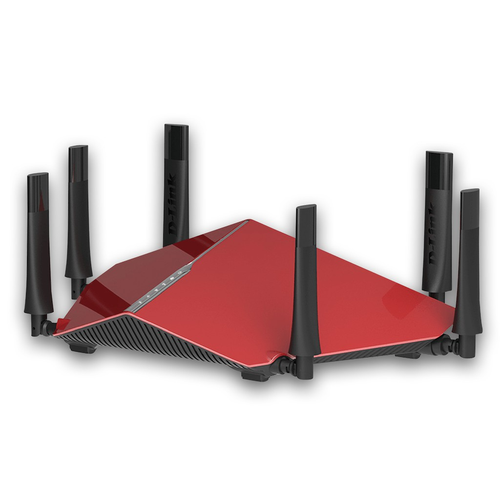 Thiết bị phát Wifi không dây D-LINK DIR 890L (Đỏ phối đen)
