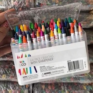 Hộp sáp màu Kids&CO 64 màu