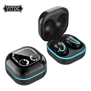 Tai Nghe Vitog S6SE Tws Không Dây Kết Nối Bluetooth Chống Ồn Cho Tất Cả Điện Thoại Thông Minh