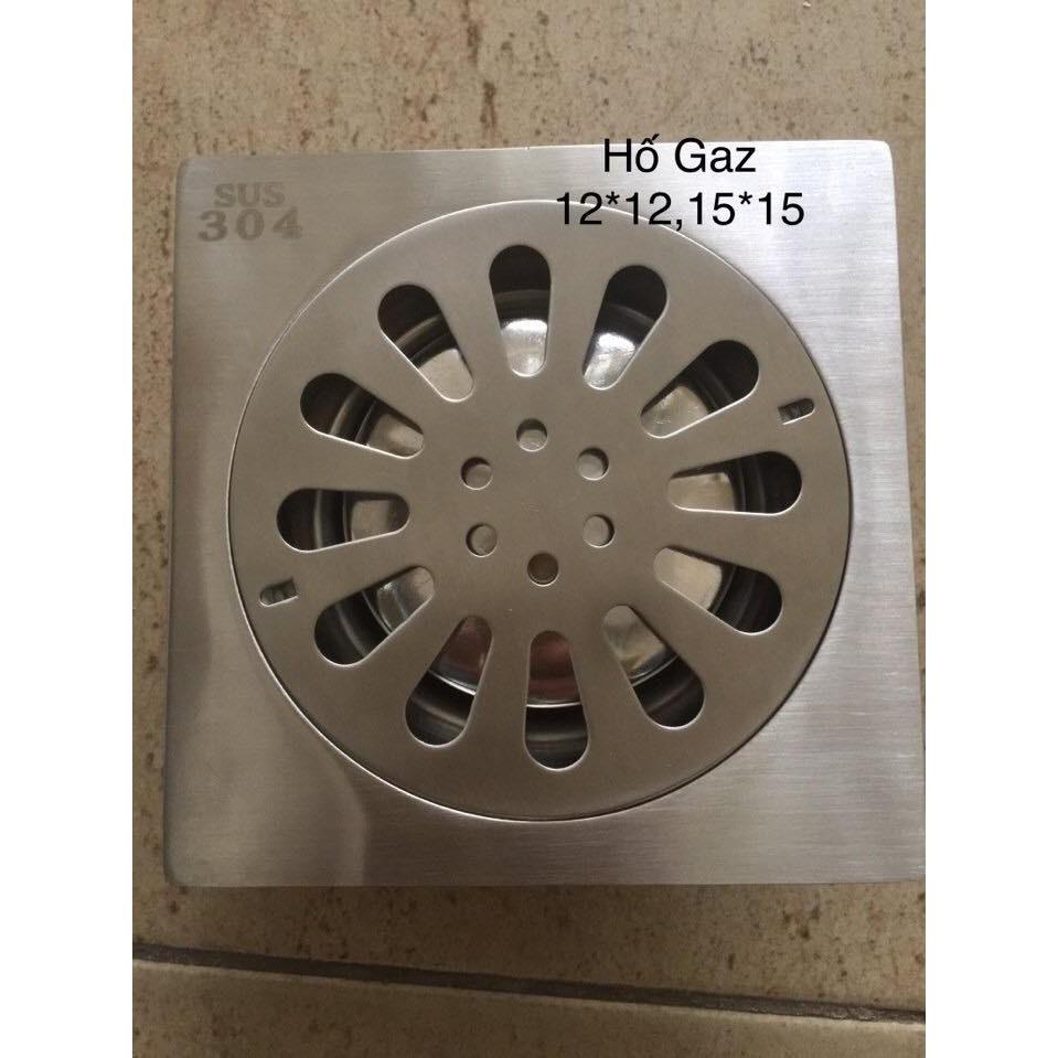 PHỄU THOÁT SÀN INOX 304 12x12cm - 107.VN